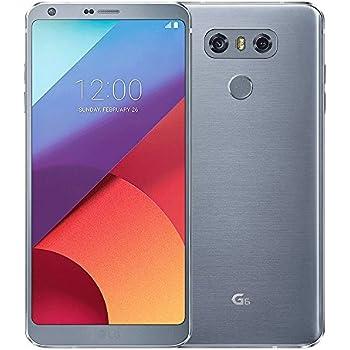"LG G6 H870DS 64GB Ice Platinum, 5.7"", Dual Sim, 4GB RAM, GSM Unlocked International Model, No Warranty"