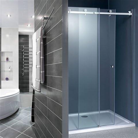 Karla 8 mm y protector de pantalla para mampara de ducha de 1200 mm: Amazon.es: Hogar
