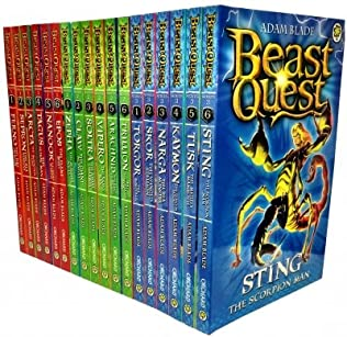 book cover of Beast Quest Series 1-3