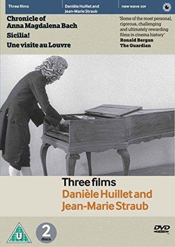 Danièle Huillet & Jean-Marie Straub - 3 Film Collection - 2-DVD Set ( Chronik der Anna Magdalena Bach / Sicilia! / Une visite au Louvre ) ( The Chronicle of Anna Magdalena Bach / S [Reg.2]