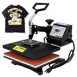 Super Deal 12″ X 9″ Digital Swing Away Heat Press Clamshell Transfer Machine for T-Shirt