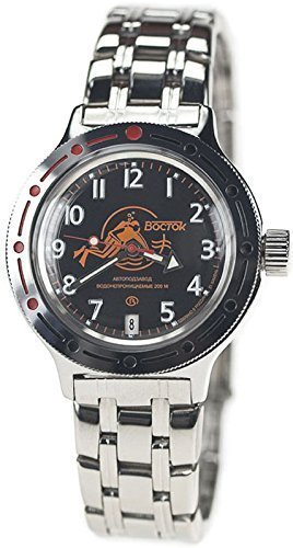 Vostok Amphibian Military Russian Diver Watch Scuba for sale  Delivered anywhere in USA