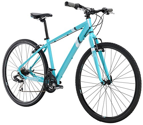 "Diamondback Bicycles Calico ST Women's Dual Sport Bike, Blue, 14""/X-Small"