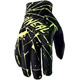 O'Neal Matrix Handschuhe Enigma Schwarz Neon Gelb MX MTB DH Motocross Enduro Offroad, 0388M-3