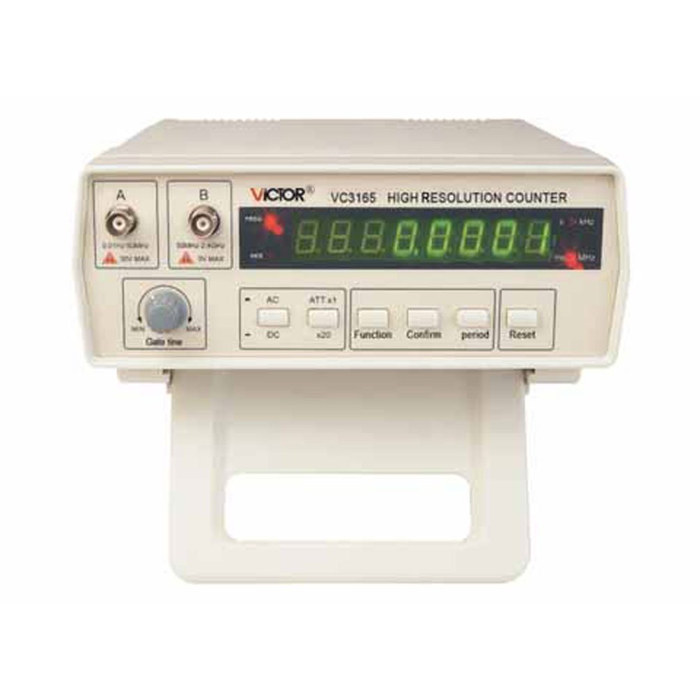 1PC VICTOR Radio High Frequency Counter RF Meter 0.01Hz-2.4GHz Professional Tester VC3165