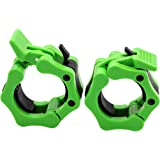 "Greententljs Olympic Barbell Clamps 2 inch Quick Release Pair of Locking 2"" Pro Olympic Weight Bar Plate Locks Collar…"
