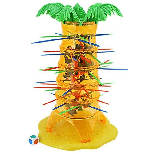 ファミリボードゲーム、ギフトおもちゃTumbling Monkey登山Pull Out Sticksボードゲームfor Kids