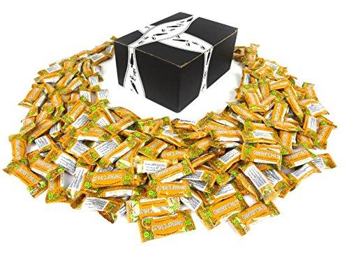 Gem Gem Oh, Oh, Orange! Ginger Candy, 2 lb Bag in a BlackTie