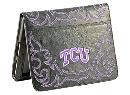 NCAA TCU Horned Frogs TCU-IP062Texas Christian University iPad 2 Cover, Black, One ()