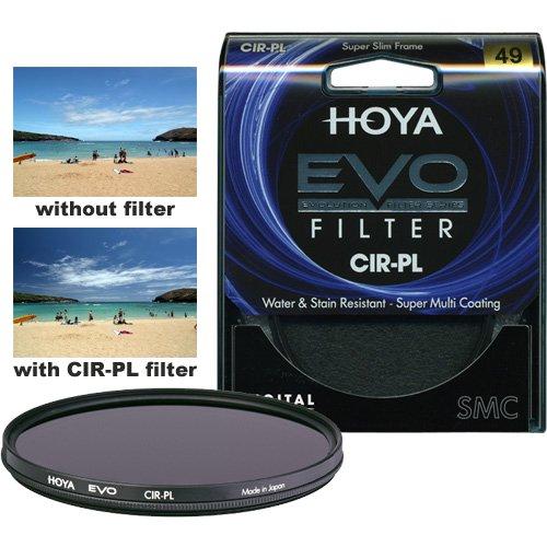 Hoya Evo Circular Polarizer 49mm Lens Filter