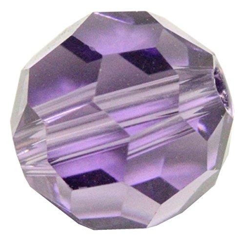 Tanzanite Crystal Bead - 50 6mm Adabele Austrian Round Crystal Beads Tanzanite Round Beads Compatible with 5000 Swarovski Crystal Preciosa SS2R-626