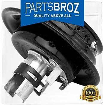 3412D024-09 Burner Assembly for Magic Chef & Maytag Gas Ranges by PartsBroz - Replaces WP3412D024-09, AP6008592, 3412D024-09, 12500050, 3412D007-00, 3412D007-09, 3412D014-09, 3412D015-09, 74003963
