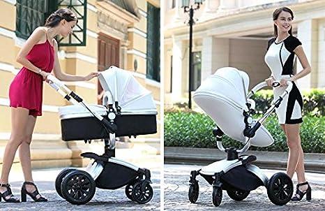 Amazon.com : baby pram 3 in 1 cochecito bebe High Landscape Portable prams and pushchairs luxury baby stroller prams stroller travel : Baby