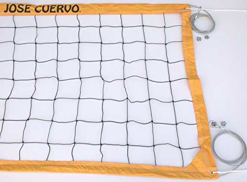 jose-cuervo-tequila-recreational-volleyball-net-gold-steel-aircraft-cable