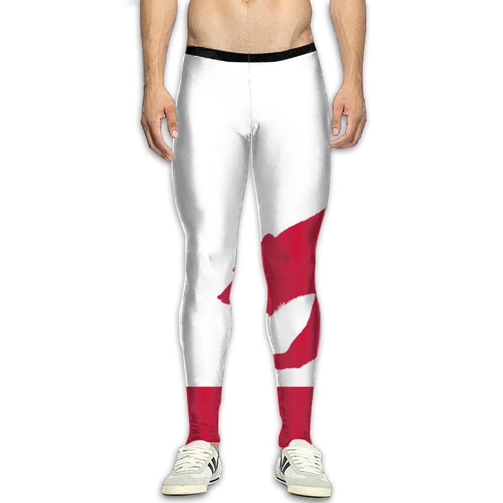 Fri California Flags Bear Cool Compression Pants//Running Tights Workout Leggings Men Ladies Tall