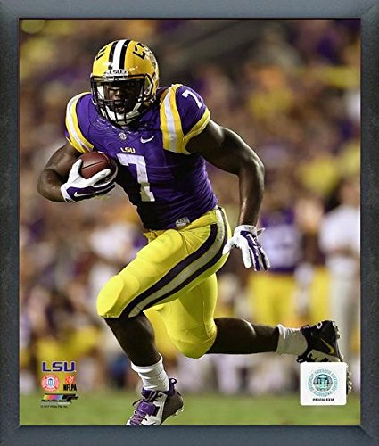 (Leonard Fournette LSU Tigers 2014 Action Photo (Size: 17