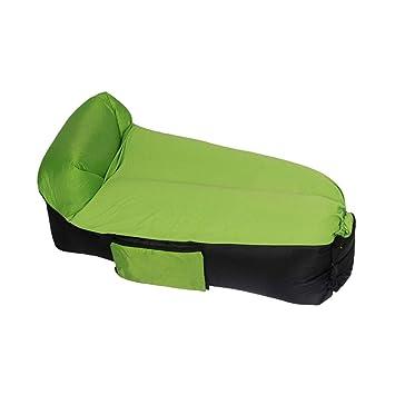 STAZSX Cama de Aire, Cama Inflable de Viaje Individual, sofá ...