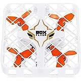 QWinOut 2.4GHZ 1602 Super Micro RC Quadcopter Box RTF FPV Camera Mini 4-axis Aircraft Drone (Standard Version) (White)