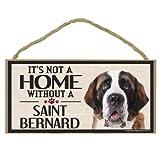 Imagine This Wood Sign for St. Bernard Dog Breeds