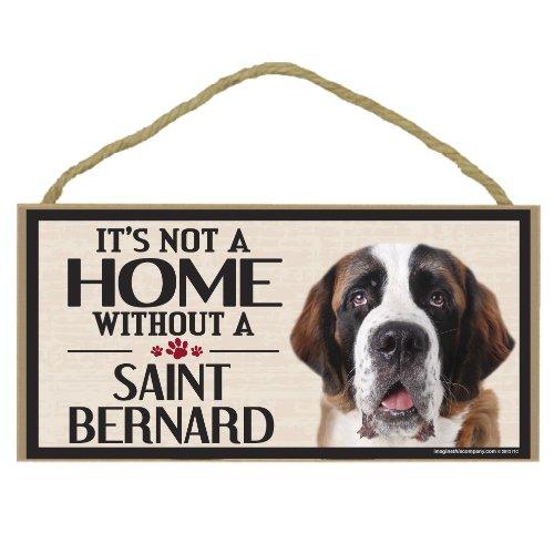 - Imagine This Wood Sign for St. Bernard Dog Breeds