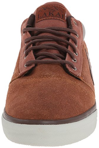 Lakai Griffin Mid, Scarpe da Skateboard Uomo Marrone (Marron (Brown Suede All Weather))