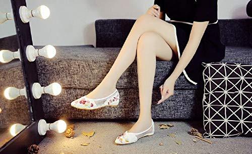 Lazutom Femme Mocassins pour Femme Blanc Lazutom Lazutom Mocassins Blanc pour 4F66qw