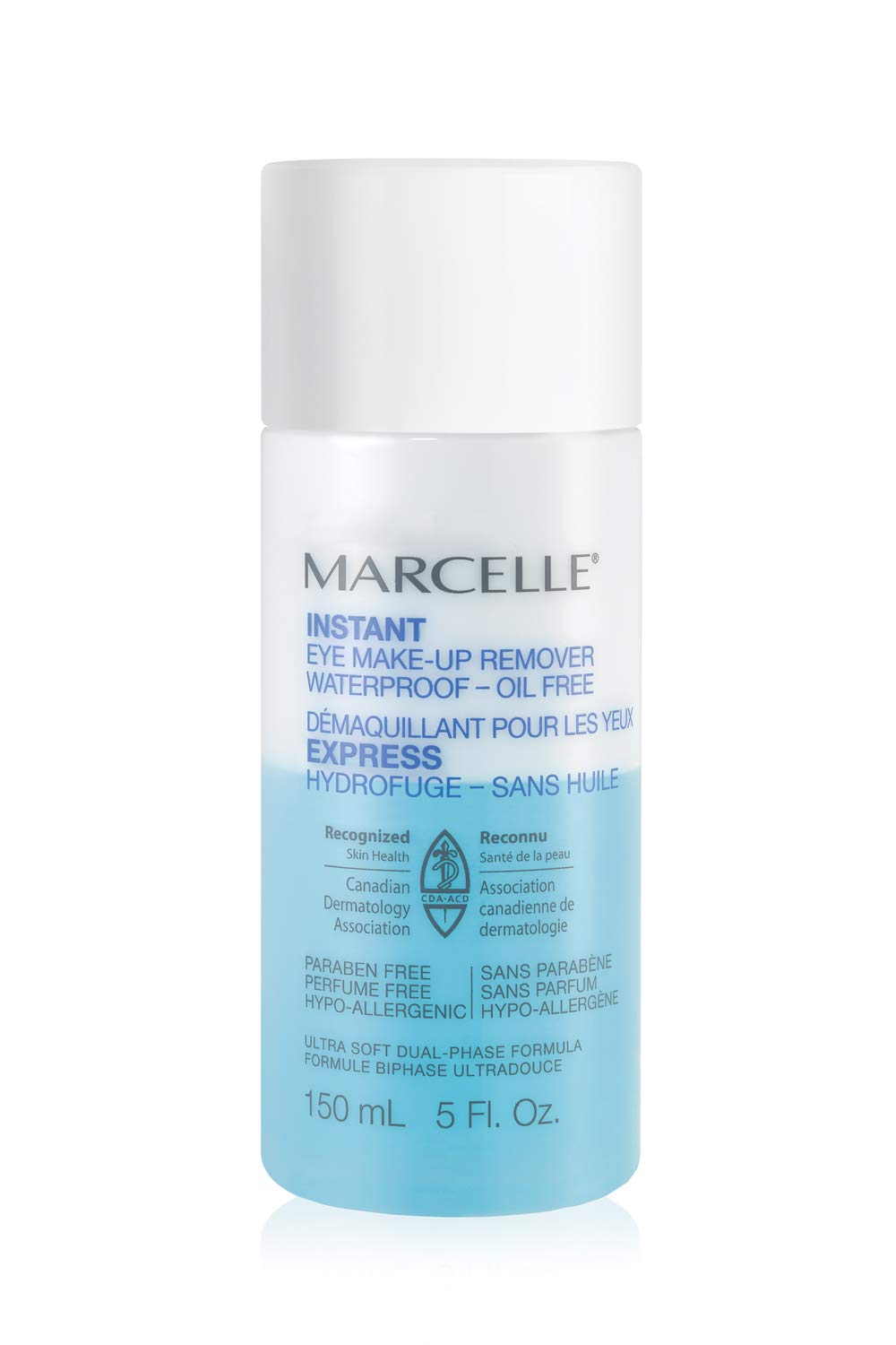Marcelle Instant Eye Makeup Remover, Hypoallergenic and Fragrance-Free, 150 mL Marcelle group - Beauty 167931