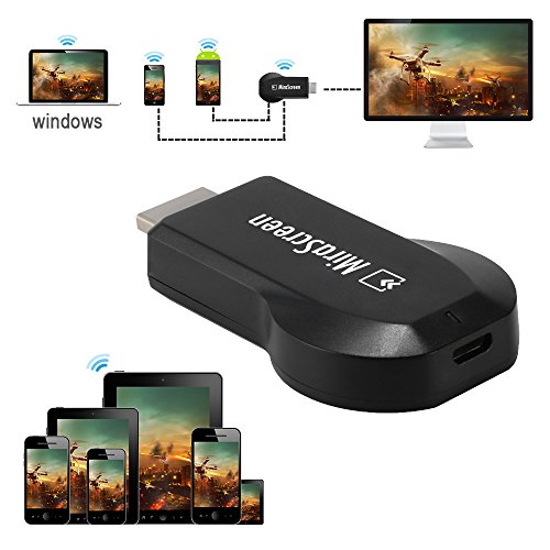 MiraScreen E5S WiFi Display Dongle Receiver HDMI TV Miracast DLNA Airplay Mirroring Media Streaming for IOS/Android/Windows/Mac AH359 by XCSOURCE (Image #2)