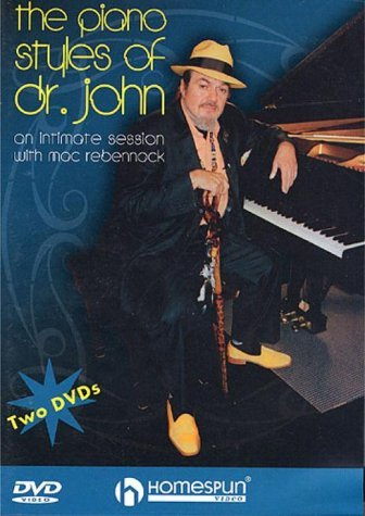 Dvd Two Homespun - 2 DVD's-The Piano Styles of Dr John