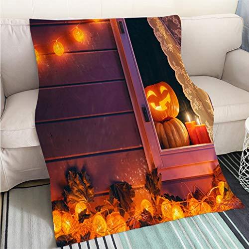 BEICICI Customized Comfortable 100% Soft Premium Blanket preparing for Halloween Fashion Ultra Cozy Flannel Blanket ()