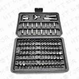 100 PIECE SECURITY BIT SET LOCKSMITH PC TORX HEX KEY