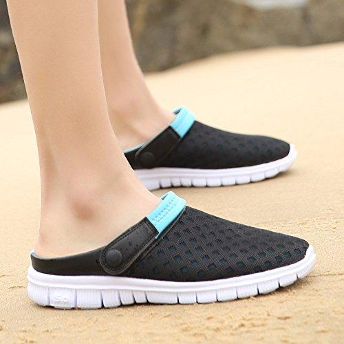 estate Nuovo prodotto Uomini Spiaggia Buco scarpa Coppia sandali Taglia larga Tempo libero sandali Coppia tendenza sandali Uomini ,blu,US=9,UK=8.5,EU=42 2/3,CN=44