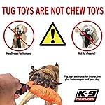 51Ihjuy7EPL. SS150  - Dog Bite Tug Toy Redline K9