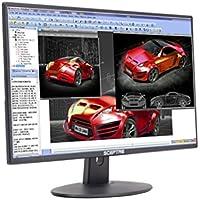 Sceptre 24 Inch LED Monitor 75Hz FHD 2x HDMI Build-in Speakers, Metallic Black 2018