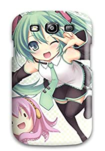 2910038K66758858 Case Cover Skin For Galaxy S3 (vocaloid)