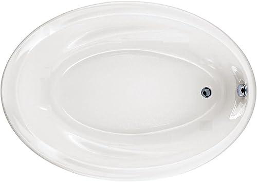 American Standard Savona 60 in. x 42 in. Oval Bathtub