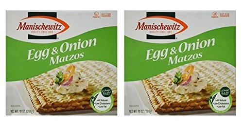 (Manischewitz Egg & Onion Matzo, 10 oz (Pack of 2))