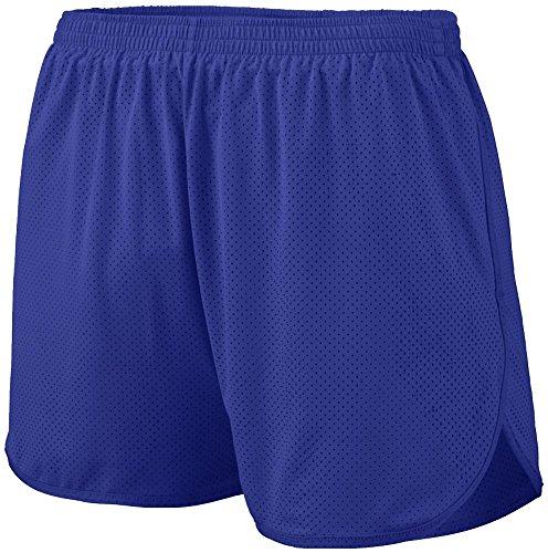 (Augusta Sportswear AK-848061072747 Men's Solid Split Short, XXX-Large, Purple)