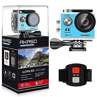AKASO EK7000 4K Action Camera Sports WiFi Underwater Camcorder DV