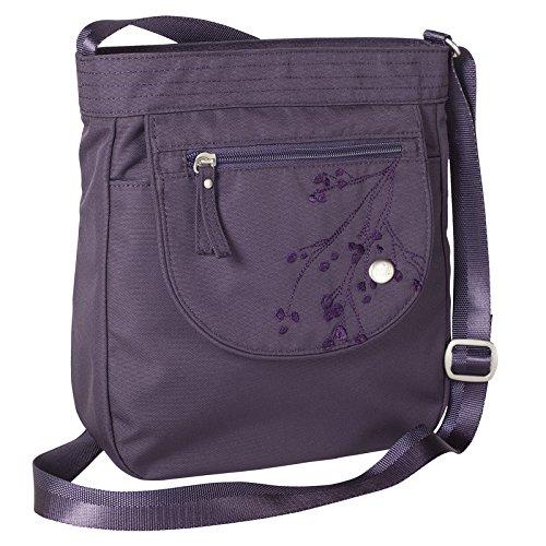 Haiku Women's Jaunt Eco Crossbody Handbag, Amethyst (Fabric Handbags)