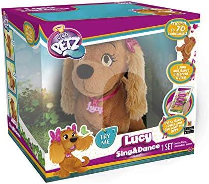 IMC Lucy Club Petz 95854IMDE - Süße Pfote Sing und Dance, Plüsch