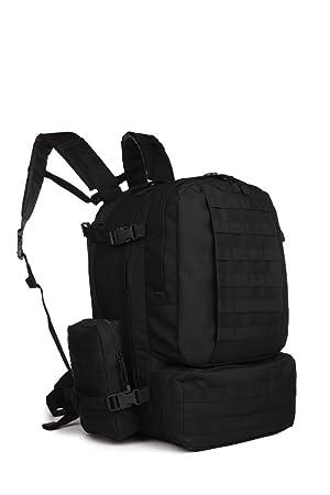 50 -60 L Sport Outdoor Military Rucksacks Tactical Molle Backpack Camping Hiking Trekking assault 3-days backpack Bag 08007