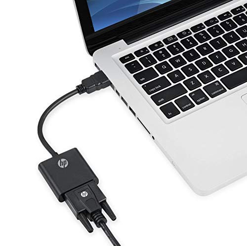 HP HDMI to VGA Adapter - Male to Female - for Computer, Desktop, Laptop, PC, Monitor, Projector, HDTV, Chromebook, Roku, Xbox and More by HP (Image #4)
