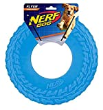 Nerf Dog TPR Flyer, 10-Inch (Great toy for your Favorite Pooch) (Blue)