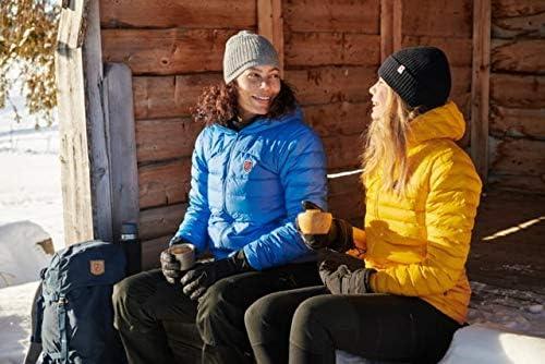 FJALLRAVEN Damen Expedition Pack Down Hoodie W Sweatshirt, blau, L