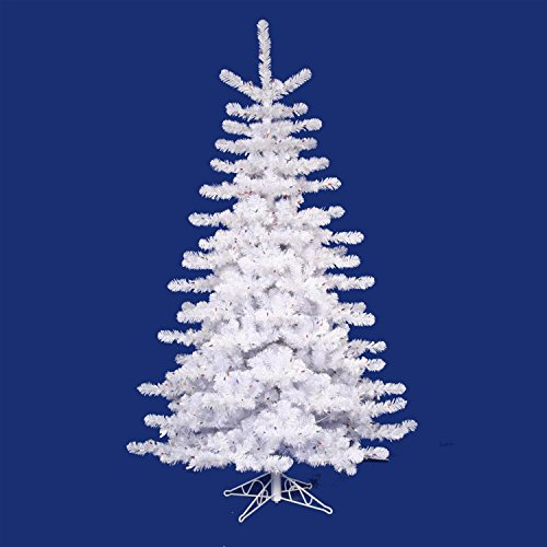 Lit Crystal Artificial Christmas Tree - Vickerman 14' Pre-lit Crystal White Artificial Christmas Tree - Clear Lights