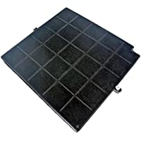 Filtre charbon 260x256x17mm airforce fc120 affcaf16cs afcfcaf16cs hbox90x hboxf5390x hbox90ek hotte arthur martin afcv9031x