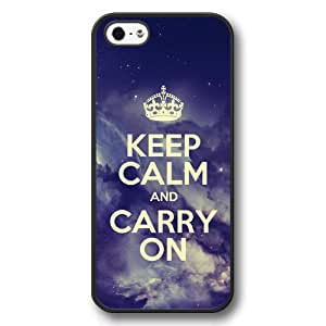 Onelee(TM) - Keep Calm And Carry On Hard Plastic Case Cover for iPhone 5/5S - The Starry Sky Series - Black07