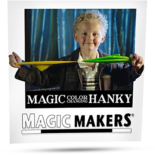 Magic Scarf Trick 2 Piece Color Changing Hanky Tricks For ()