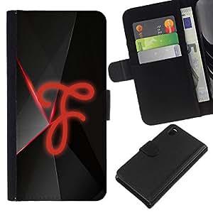 // PHONE CASE GIFT // Moda Estuche Funda de Cuero Billetera Tarjeta de crédito dinero bolsa Cubierta de proteccion Caso Sony Xperia Z3 D6603 / F /